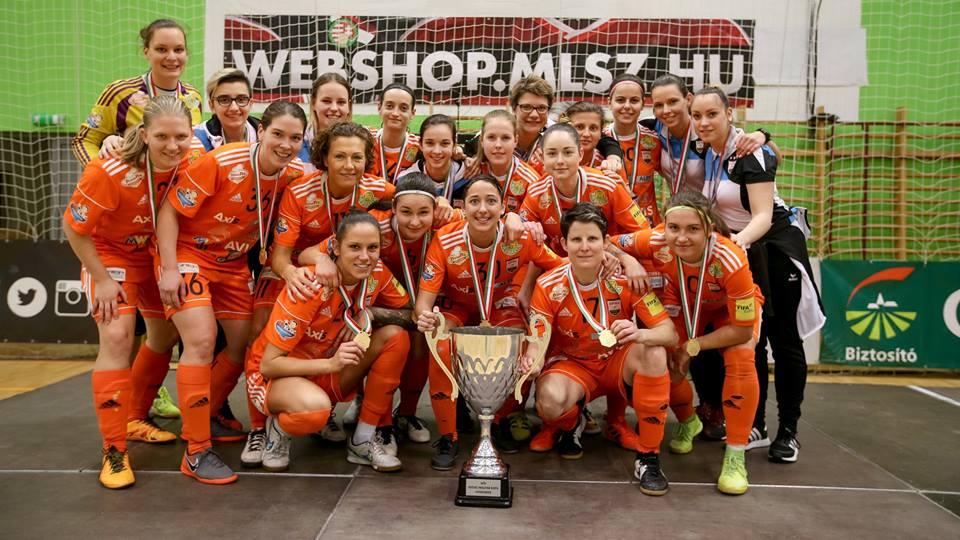 Hatszoros kupagyőztes csapatunk!