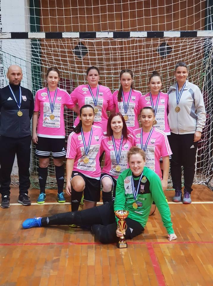 Bács-Kiskun megyében a legjobb U17 futsal csapat a miénk!