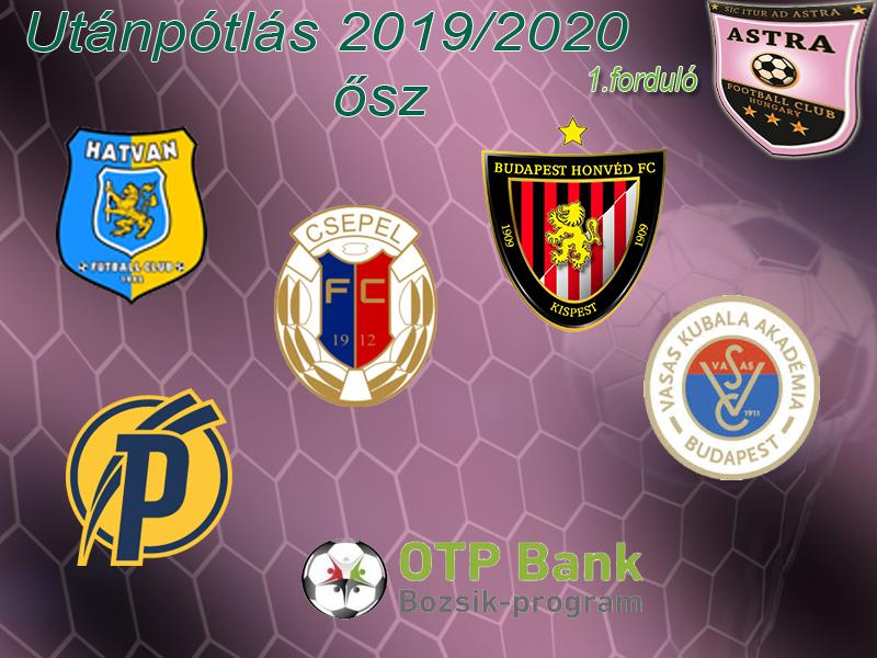 Az utánpótlás is megkezdi szereplését a 2019/2020-as szezonban