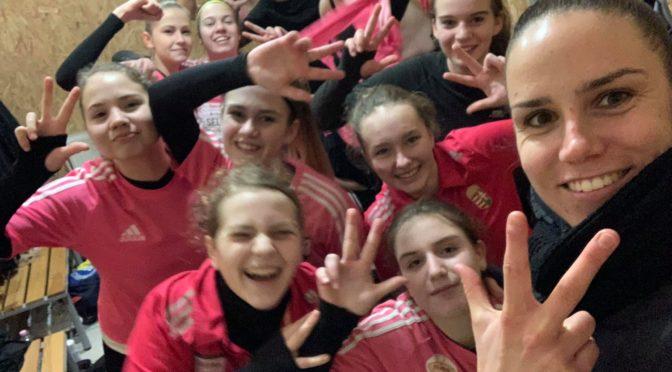 Izgalmas mérkőzésen, magabiztos győzelmet aratott U16- os leány csapatunk!